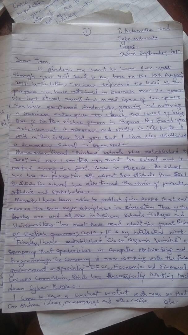 No 1 Essay Letter Write Pix