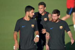 Suarez Neymar Messi Photo