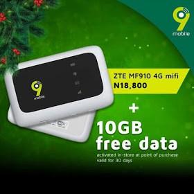 2018 9mobile Free data