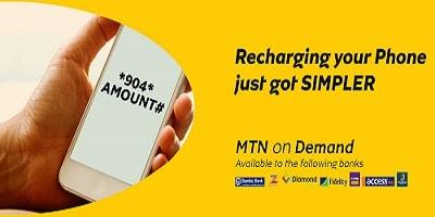 On Demand MTN Card