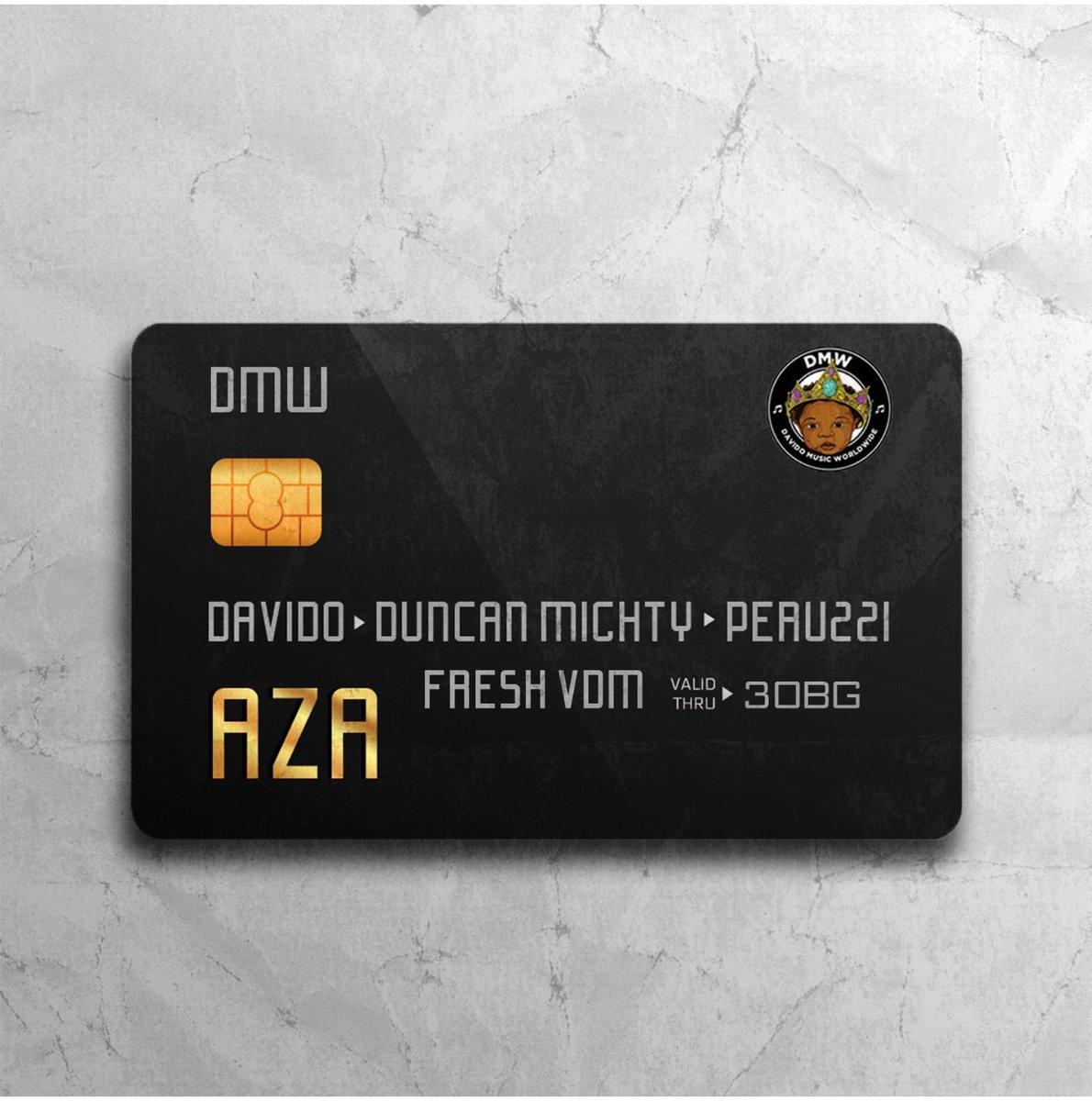 Davido ft Ducan Mighty & Peruzzi  Vibes – AZA