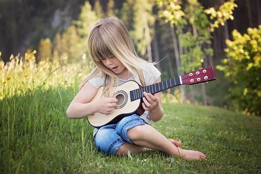 Girl Playing Musuc