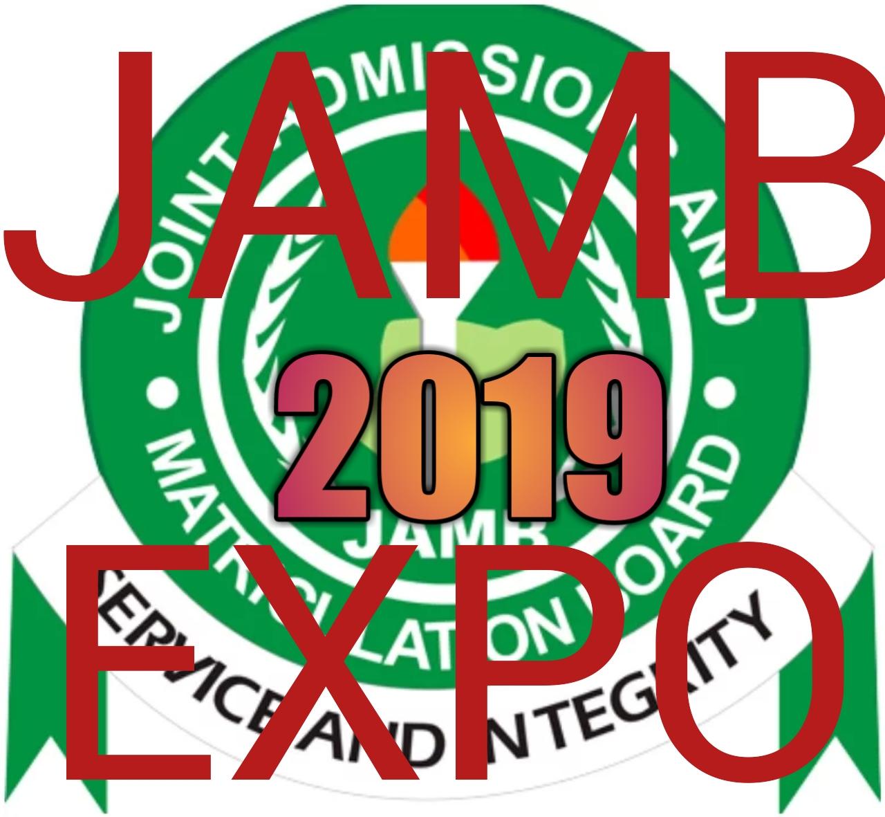 JAMB 2019 EXPO