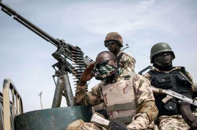 Nigerian Soldiers on Duty