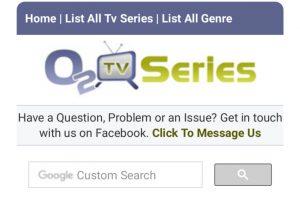 O2TVSeries.com | O2TVSeries Logo
