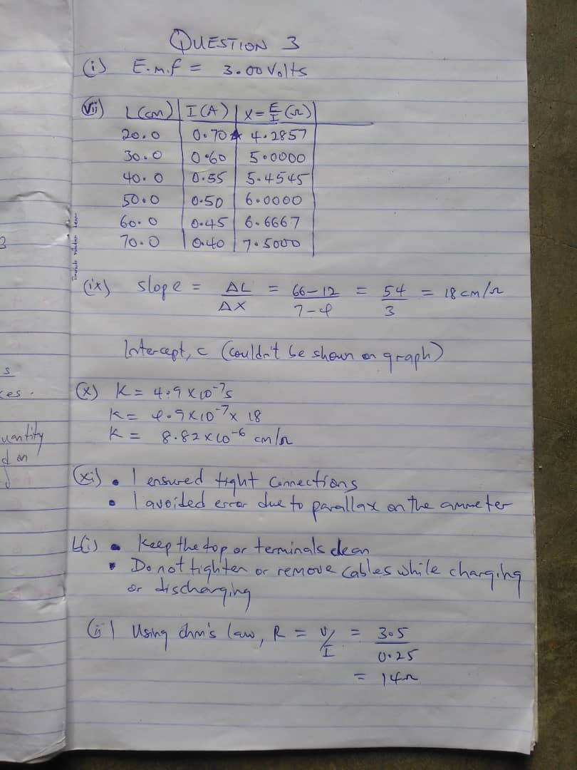 neco physics answers