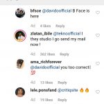 Comment on Tekno's Agege Snippet