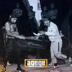 Agege Cover Art- Tekno x Zlatan