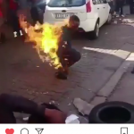 Xenophobia in South Africa - Man Burnt Alive