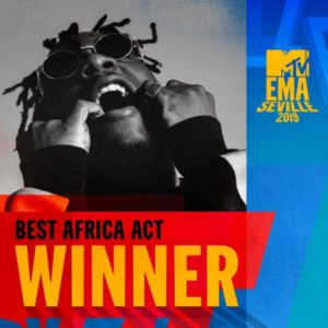 Burna Boy Won Best African Act Award at 2019 MTV EMA