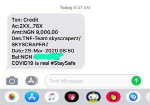 SkyScraperz Payment Alert